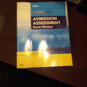 Admission Assessment EXAM REVIEW for Sale in Chino, CA