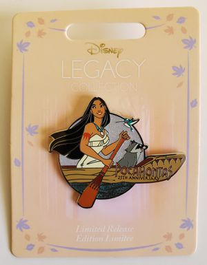 Disney Pocahontas Pin 25th Anniversary Limited Release for Sale in Glendale, CA