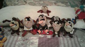 Taz stuffed animals for Sale in Warren, MI