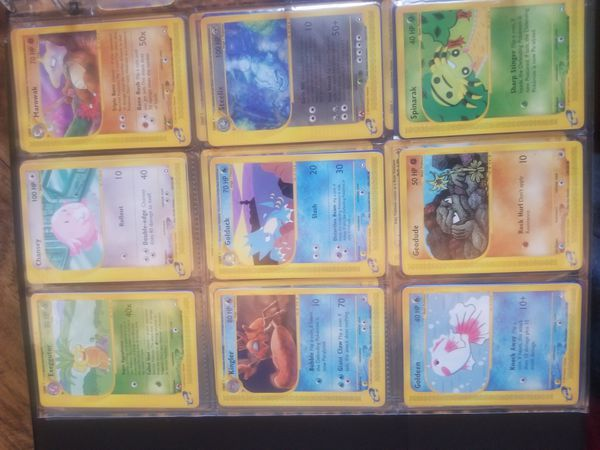 Pokemon e reader cards