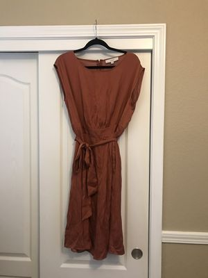 Loft- Red Chutney Tie Waist Dress $15 for Sale in Fresno, CA