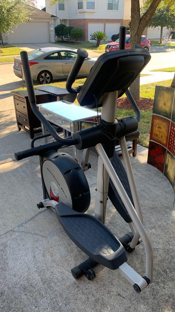 Elliptical Nordictrack workout machine