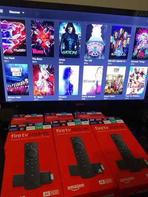 4k Amazon fire TV stick Plug and play - hablo español for Sale in Fort Worth, TX