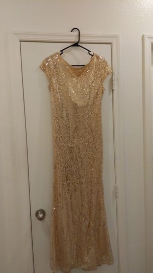 Gold Dress for Sale in North Las Vegas, NV