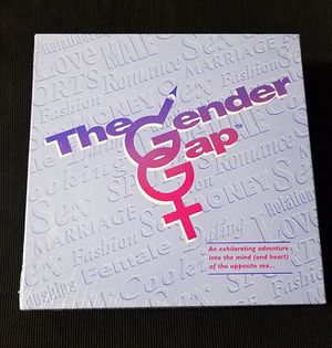 The Gender Gap Board Game Male Female Opposite Sex Gender IQ Fun for Sale in Las Vegas, NV