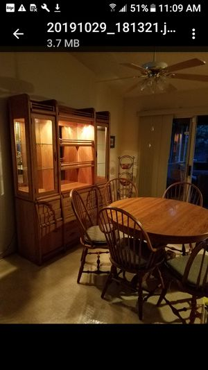 Hutch and dining table for Sale in Laurel, MD