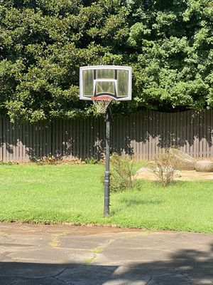 Free basketball hoop. If you can dig it up, it's yours for Sale in Marietta, GA