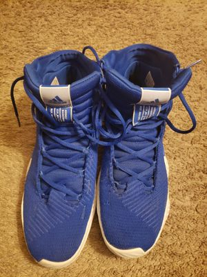 Blue Adidas pro bounce size 10 mens for Sale in Silver Spring, MD