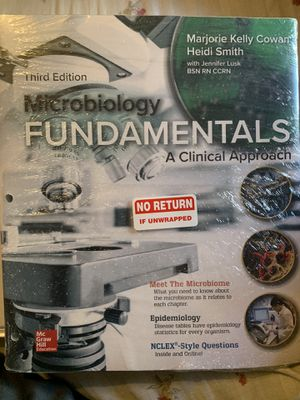 Microbiology Fundamentals (3rd edition) for Sale in Los Angeles, CA