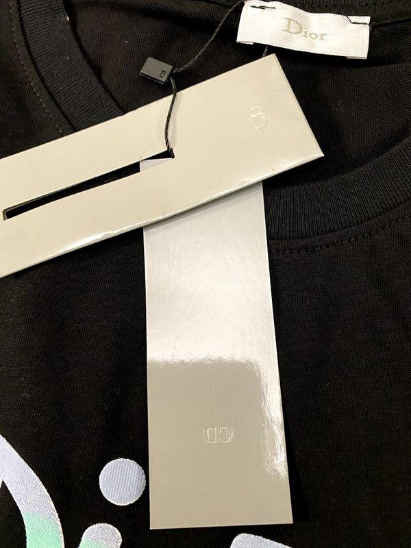 Dior Imprinted Cotton T-Shirt Size M