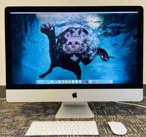 """Apple iMac 27"""" Retina 5K (Late 2015 - 3.2GHz - Quad Core - i5 - 32GB - 1TB) w/ Box + Monitor for Sale in Vienna, VA"""