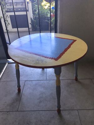 Kids table and chair for Sale in Escondido, CA