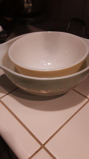 Pyrex bowls x2 for Sale in Renton, WA