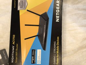 Nighthawk AC1750 Wifi Router Netgear for Sale in Ontario, CA