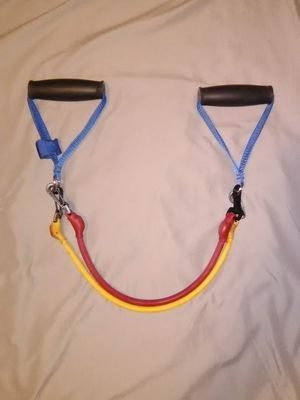 Resistance bands with handle. Exercise equipment. Workout Training band for Sale in NEW PRT RCHY, FL