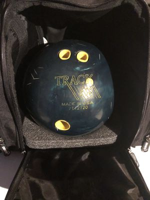 Track Bowling Ball with Carry Bag for Sale in Upper Marlboro, MD