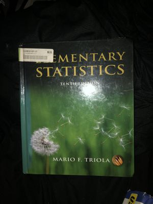 Elementary Statistics (10th Edition) for Sale in Los Angeles, CA