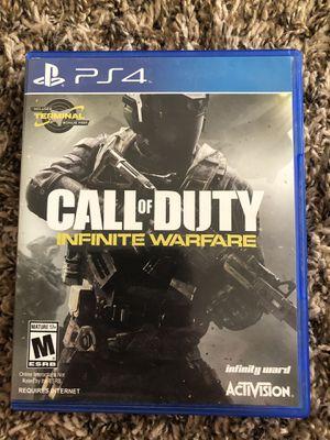 PS4 call of duty infinite war for Sale in La Verne, CA