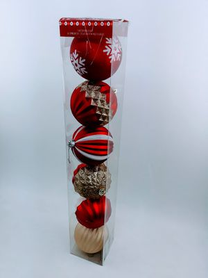 Christmas Decor Large Balls aprox 6in. for Sale in Oakland Park, FL