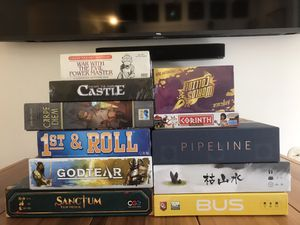 New & Used Designer Board Games -- Euros, Minis, & More for Sale in Arlington, VA