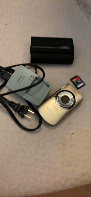 Canon IXUS 110 IS 12.1 MP digital camera for Sale in Rancho Cordova, CA