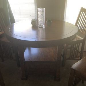 Solid wood dining set NEED GONE ASAP for Sale in Seattle, WA