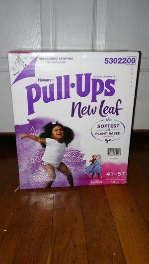 Box huggies pullups 4T5T for Sale in Glenarden, MD