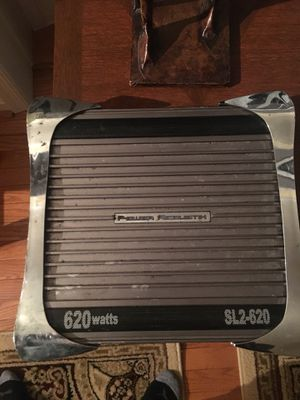 Power Acoustik 620Watt Amp ! premium sound for any sub or 2 way set ! Works excellent / PLUG + PLAY / 2channel for Sale in Silver Spring, MD