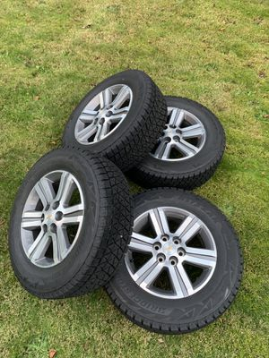 2017 Chevy traverse winter tires and wheels. for Sale in Woodway, WA
