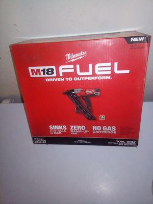 Brand new M18 fuel Milwaukee 15 gauge nail gun for Sale in Phoenix, AZ