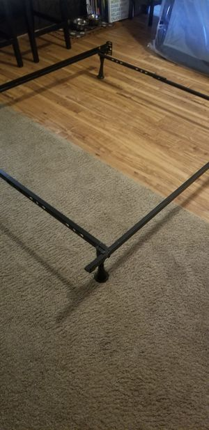 Twin/double metal bed frame for Sale in Sandy, UT