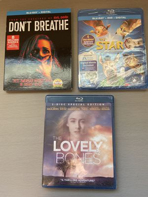 New unopened Blu-Ray films $5 each for Sale in San Jose, CA