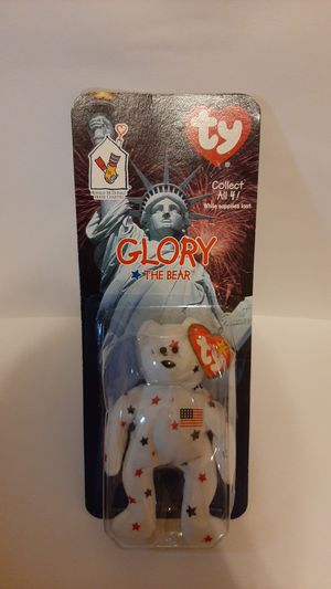 Glory the bear beany baby 1998 mcdonalds edition rare for Sale in Garland, TX