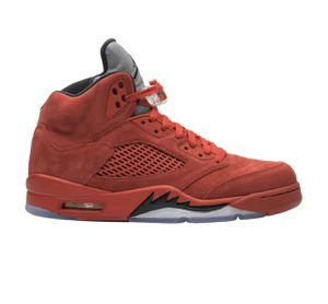 Air jordan 5 retro 'red suede' size 8.5 NEW for Sale in Seffner, FL