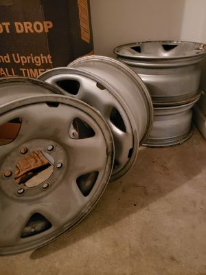Toyota tacoma 2018 Rims with center caps for Sale in North Charleston, SC