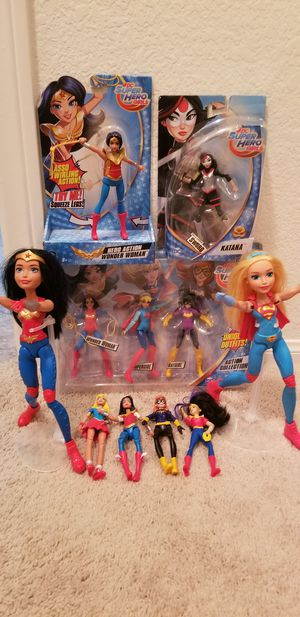 Wonder Woman Super Hero Girls Dolls Toys for Sale in Temecula, CA