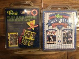 Mlb vintage board game set 1990 and 1993 new for Sale in Burlington, CT