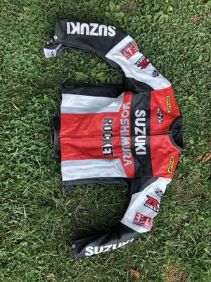 Joe Rocket Suzuki leather GSXR jacket for Sale in Fort Washington, MD