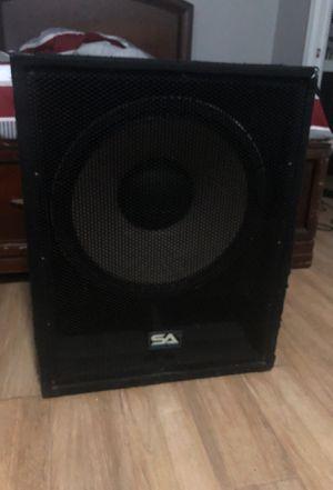 Pa speaker subwoofer for Sale in Miami, FL