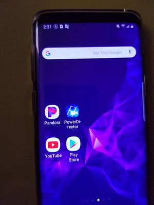 Samsung Galaxy S9 unlocked, with it's case, screen protector, and charger for Sale in Phoenix, AZ
