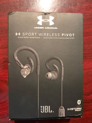 JBL Under Armour Sport Wireless Pivot Headphones for Sale in Lawrenceville, GA