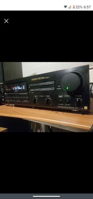 Sony ES Line Stereo Receiver for Sale in Portland, OR