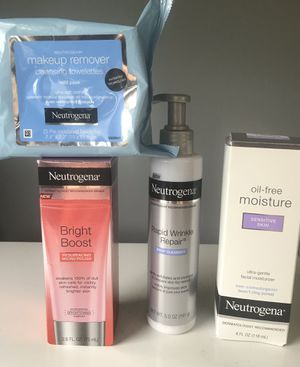 Neutrogena facial care for Sale in Rocky Hill, CT