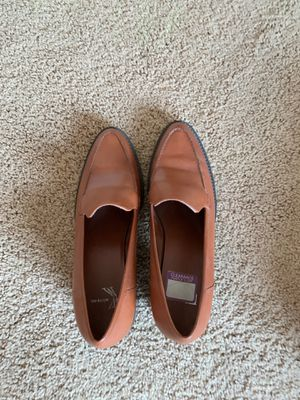 Leather shoes light brown for Sale in Chandler, AZ