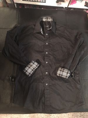 Men's medium Burberry Button down for Sale in Millvale, PA
