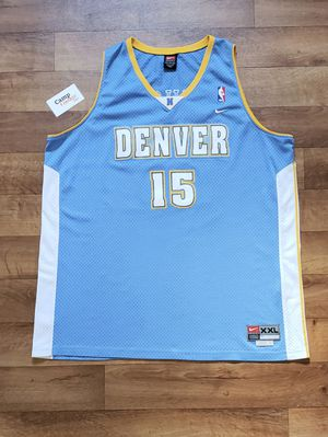 Vintage Carmelo Anthony Nuggets Jersey xxl for Sale in Las Vegas, NV