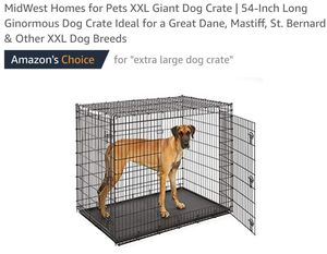 MidWest Homes for Pets XXL Giant Dog Crate 54-Inch Double Door Crate for Sale in Canal Winchester, OH