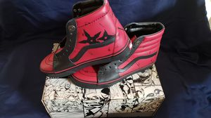 New with tags/Box Deadpool Vans SK8-Hi for Sale in Fountain, CO