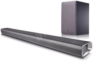 LG-SJ6 320 W Sound bar with wireless subwoofer(wi-fi + bluetooth) builtin google chrome-cast for Sale in Raleigh, NC