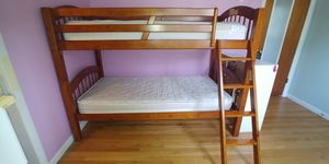 All wood twin bunk beds for Sale in Fredonia, NY